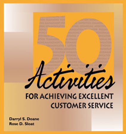 Picture of 50 Activities for Achieving Excellent Customer Service