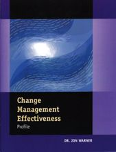Picture of Change Management Effectiveness Profile