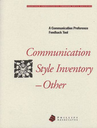 Picture of Communication Style Inventory-Other
