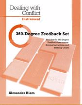 Picture of Dealing with Conflict Instrument-360 Feedback Set