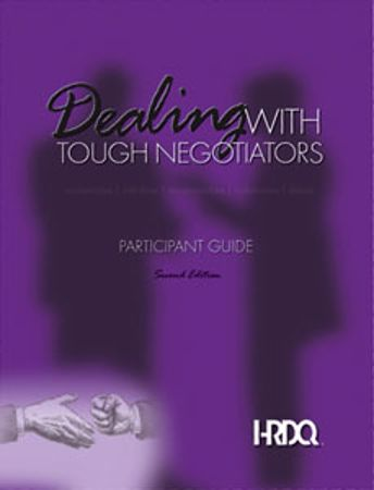 Picture of Dealing With Tough Negotiators Participant Booklet