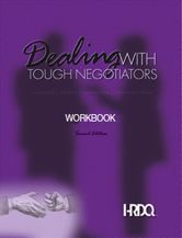 Picture of Dealing With Tough Negotiators Workbook