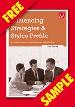 Picture of Influencing Strategies & Styles Profile Participant Activity (FREE PDF SAMPLE)