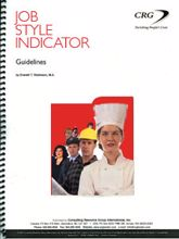 Picture of Job Style Indicator Trainers Guidelines