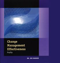 Picture of Change Management Effectiveness Profile Facilitator Set