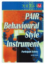Picture of PAIR Behavioural Style Instrument