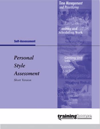 Picture of Personal Style Assessment Short Version