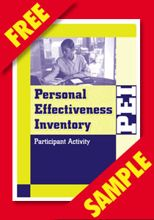 Picture of Personal Effectiveness Inventory Participant Activity 2nd Edition (FREE PDF SAMPLE)