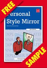 Picture of Personal Style Mirror Participant Book (FREE PDF SAMPLE)