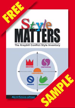 Picture of Style Matters–The Kraybill Conflict Style Inventory (FREE PDF SAMPLE)
