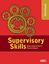 Picture of Supervisory Skills Questionnaire Participant Workbook