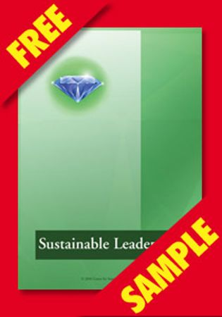 Picture of Sustainable Leadership Questionnaire (FREE PDF SAMPLE)