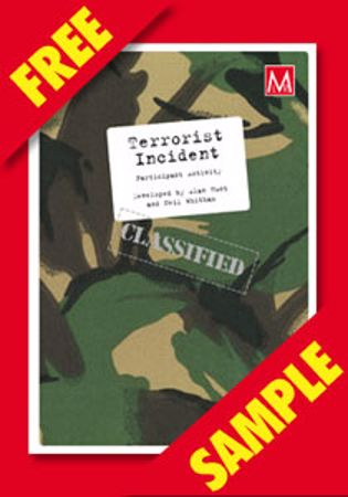 Picture of Terrorist Incident Participant Activity (FREE PDF SAMPLE)
