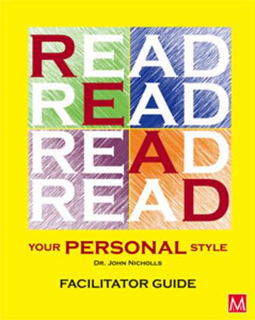 Picture of READ Your Personal Style Facilitator Guide