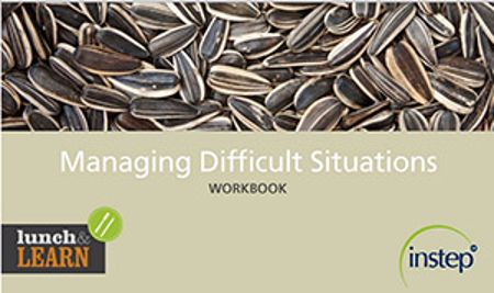 Picture of Lunch & Learn Delegate Pack - Managing Difficult Situations