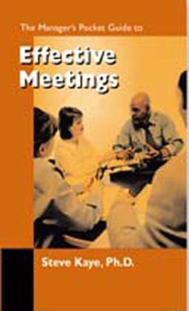 Picture of The Manager's Pocket Guide to Effective Meetings