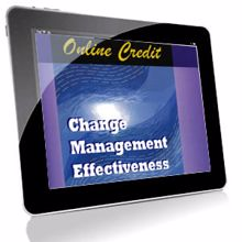 Picture of Change Management Effectiveness - Online Self-Assessment Credit