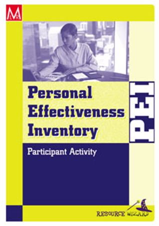 Picture of Personal Effectiveness Inventory Participant Activity 2nd Edition