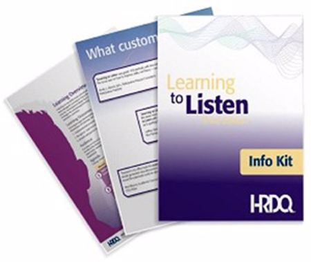 Picture of Learning to Listen Info Kit