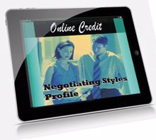Picture of Negotiating Styles Profile – Online Self-Assessment Credit