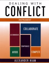 Picture of Dealing with Conflict Instrument-Self (Revised Edition)