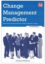 Picture of Change Management Predictor Participant Workbook