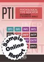 Picture of Psychological Type Indicator - Online Sample Report