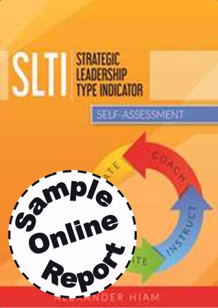 Picture of Strategic Leadership Type Indicator - Online Sample Report