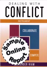 Picture of Dealing With Conflict - Online Sample Report