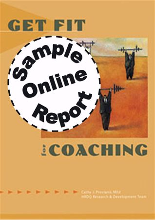Picture of Get Fit For Coaching - Online Sample Report