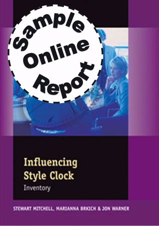 Picture of Influencing Style Clock - Online Sample Report