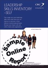Picture of Leadership Skills Inventory Self - Online Sample Report