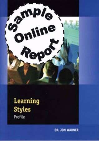 Picture of Learning Styles Profile - Online Sample Report