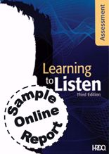 Picture of Learning To Listen Self - Online Sample Report