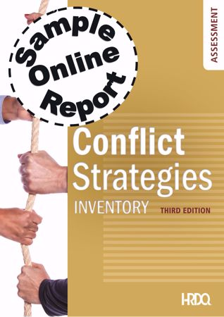 Picture of Conflict Strategies Inventory – Online Sample Report