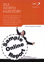 Picture of Self-Worth Inventory-Online Self-Assessment Sample Report