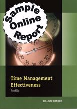 Picture of Time Management Effectiveness - Online Sample Report