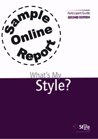 Picture of What's My Style - Online Sample Report