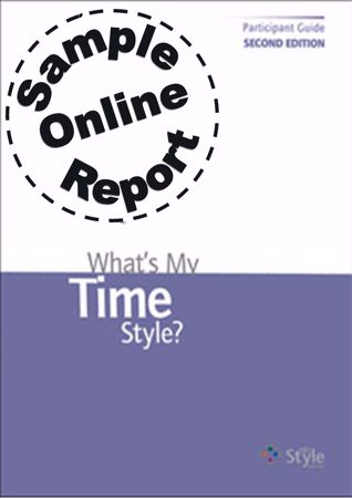 Picture of What's My Time Style? - Online Sample Report