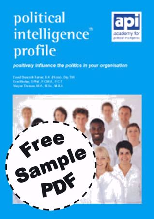 Picture of Political Intelligence Profile (FREE PDF SAMPLE)