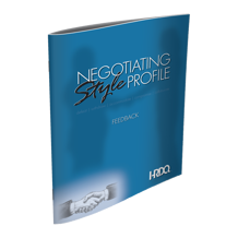 Picture of Negotiating Style Profile - Feedback