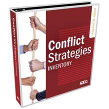 Picture of Conflict Strategies Inventory Third Edition Facilitator Set