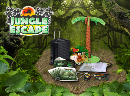 Picture of Jungle Escape Deluxe Game Kit