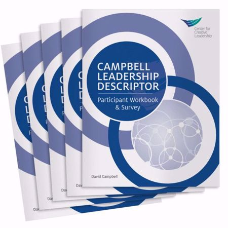 Picture of Campbell Leadership Descriptor Participant Workbook and Survey