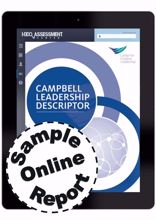 Picture of Campbell Leadership Descriptor - Online Sample Report